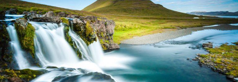 Waterfall, Reykjavik, Iceland iStock_000041650674_Large-2