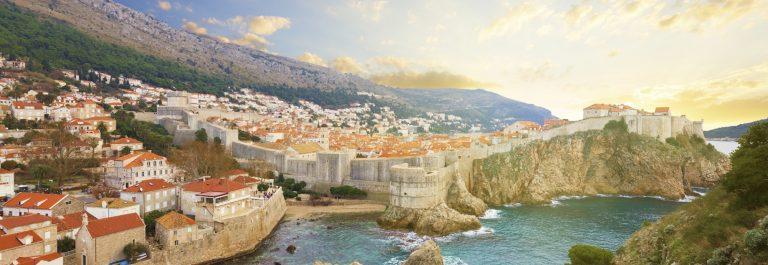 Dubrovnik Croatia Aerial View iStock_000059256040_Large