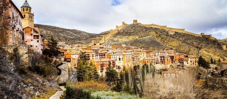 Albarracin – medieval terracotte village in Aragon, Spain shutterstock_265363280-2