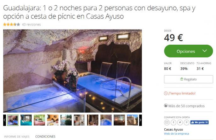 hotel en guadalajara spa