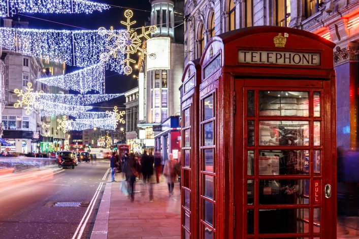 Soho in Christmas, London shutterstock_532858438