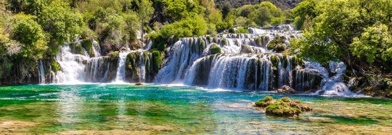 viaje al parque nacional krka