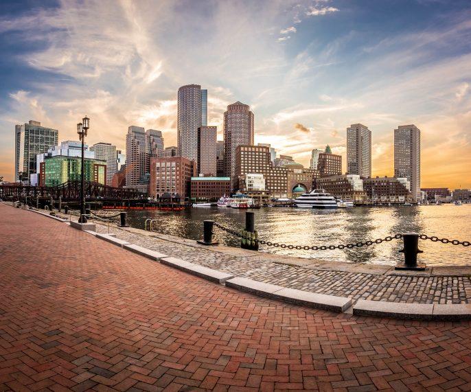 Boston Sunset Skyline iStock_000070224145_Medium-2