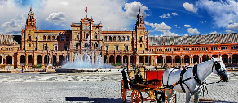 Plaza de Espana – Seville, Andalusia iStock_000073601775_Large-2