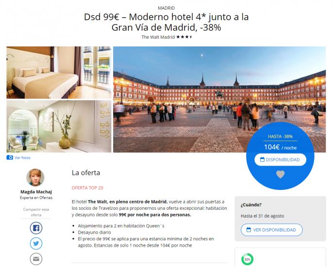 hotel en madrid