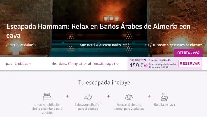 hotel en almeria