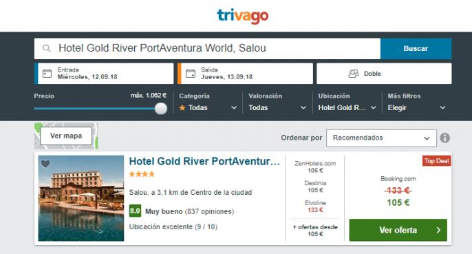 hotel en Portaventura
