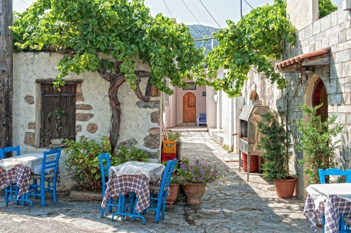 Crete Restaurant shutterstock_133493675