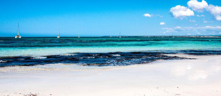 Es TrencParadise beach in Mallorca