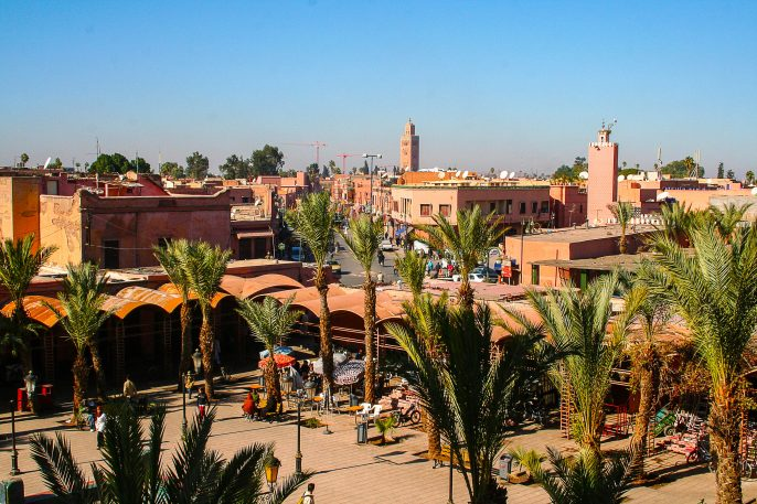 Marrakesh's Medina quarter