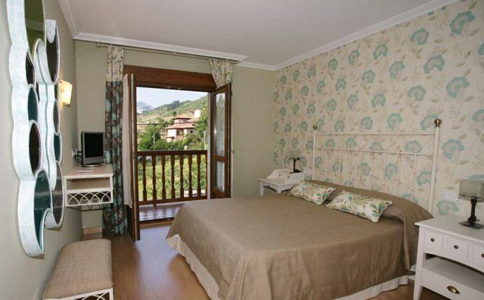 hotel en los picos de europa rural