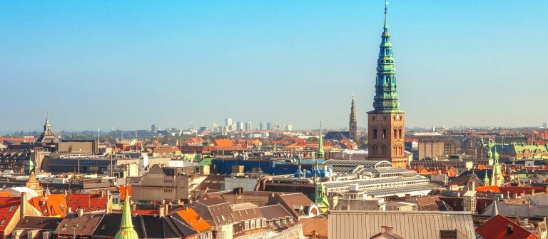 Roof view of Copenhagen City, Denmark, Scandinavia_shutterstock_495463117 – Copy