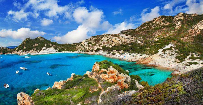 Sardinia, arhipelago la Maddalena, Italy
