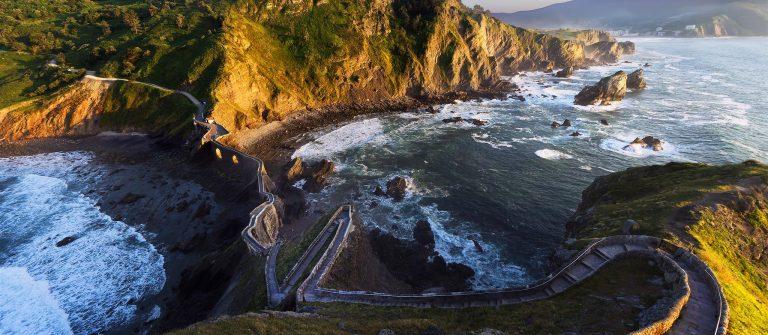 ruta por la costa vasca