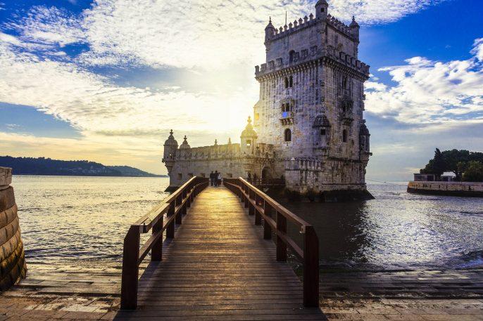 Torre de Belem – famous landmark of Lisbon , Portugal shutterstock_425815729-2