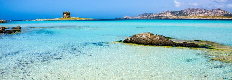 Beautiful coast of sardinia – La Pelosa, Stintino