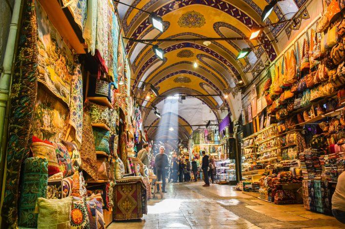 EDITORIAL ONLY grand bazaar Tekkol Shutterstock.com shutterstock_771377605