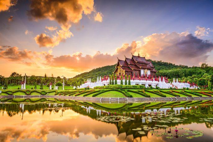 Royal Flora Park of Chiang Mai