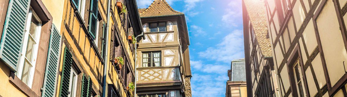 Petite France in Strasbourg,