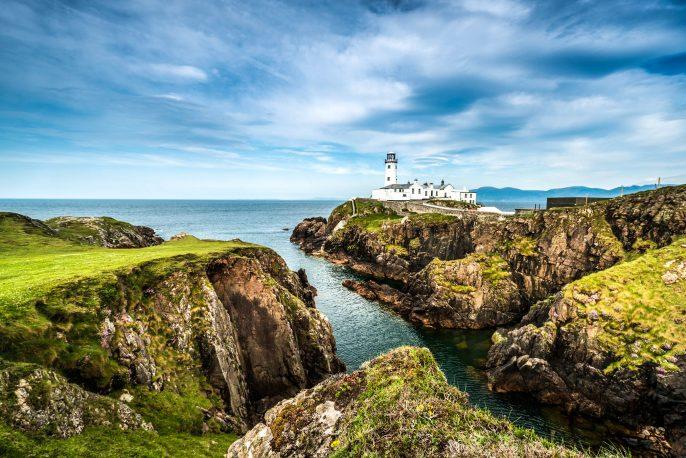 White Lighthouse, Fanad Head, North Ireland
