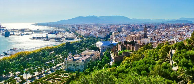 Beautiful panorama view of Malaga city, Spain_shutterstock_153487934 – Copy
