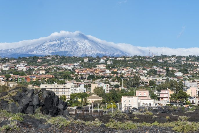 Catania. The town at the foot of Mount Etna. Sicily. Italy._shutterstock_324365000 – Copyx2000