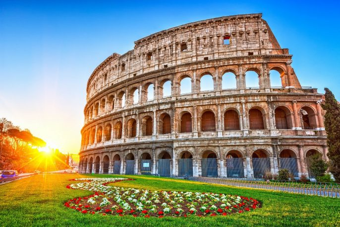 Colosseum at sunrise in Rome, Italy shutterstock_404820004-2