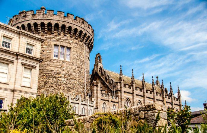 Dublin Castle shutterstock_353417699