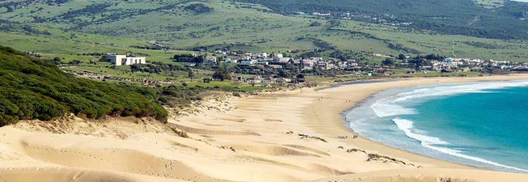 Dune of Bolonia beach, Tarifa, Spain._540808402