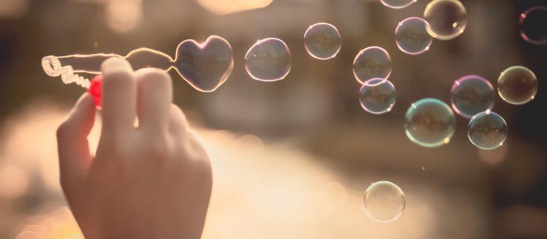 Heart_Bubbles_sky_sunset_Love_romantic