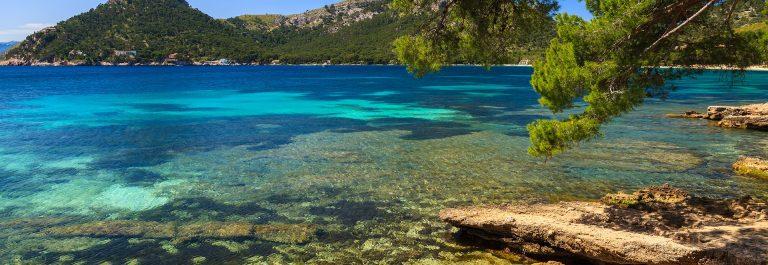 Mallorca Strand Playa Formetor