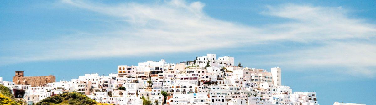 """""""Mojacar Village, Almeria, Andalusia, Spain"""""""