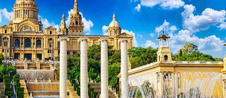 National Museum in Barcelona,Placa De Espanya,Spain shutterstock_223012147-2