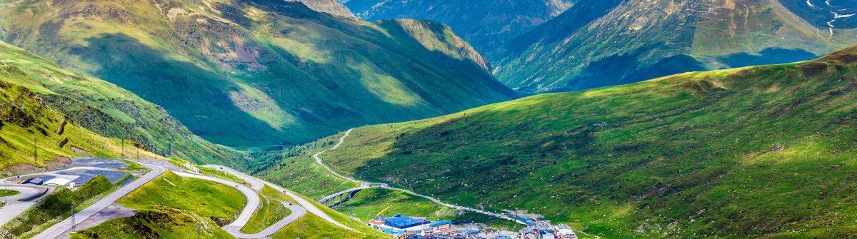 View of El Pas de la Casa from a mountain – Andorra_317384060 (