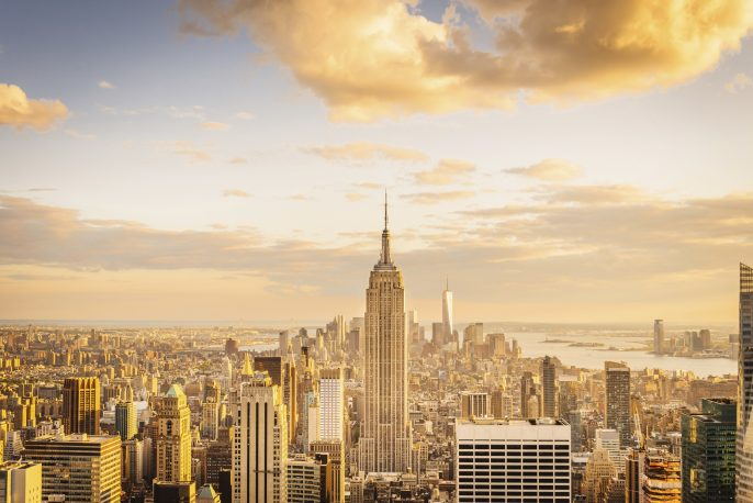 Von New York City Skyline-Midtown und Empire State Building iStock_000068418081_Large