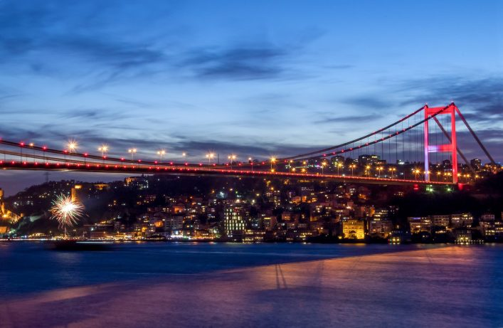istanbul at nightshutterstock_254102866