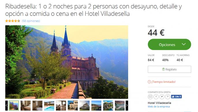 hotel en asturias ribadesella