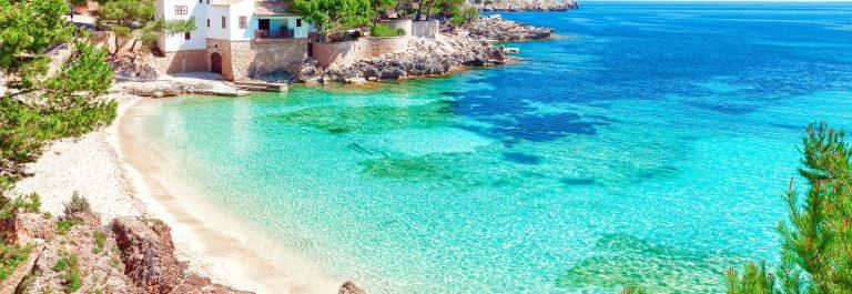 Cala Gat beach (Majorca Spain) shutterstock_622789802