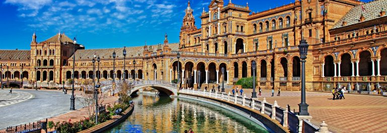 beautiful Plaza de Espana, Sevilla, Spain shutterstock_179024282-2