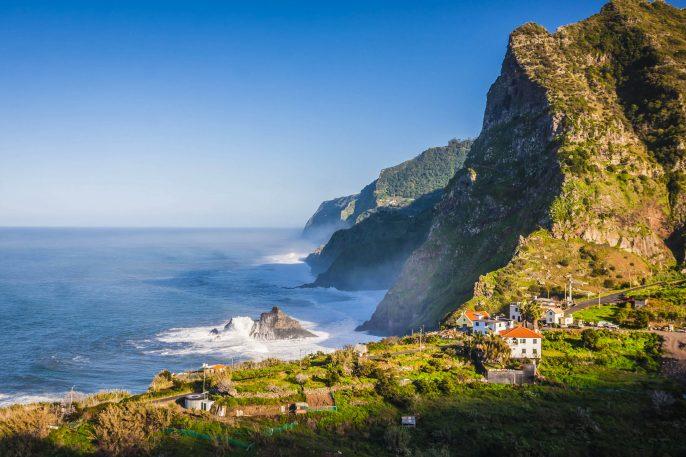 northern coast near Boaventura, Madeira island, Portugal shutterstock_164131532