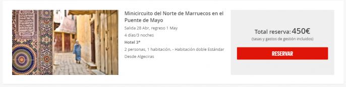 marruecos en puente de mayo