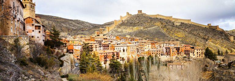 Albarracin – medieval terracotte village in Aragon, Spain_265363280