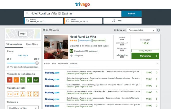 hotel en segovia