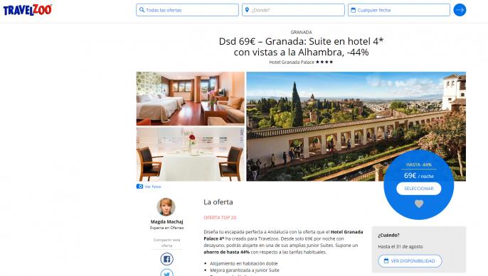 Hotel en Granada