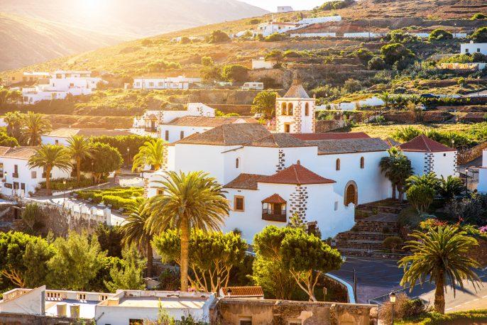 Betancuria village on Fuerteventura island