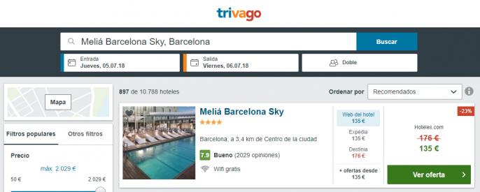 hotel en barcelona barato