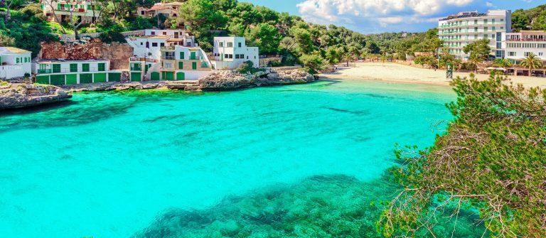 Mallorca Cala Santanyi beach