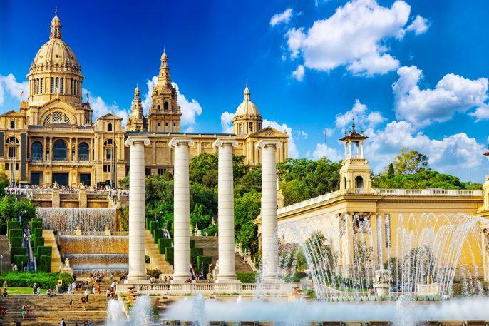 National Museum in Barcelona,Placa De Espanya,Spain shutterstock_223012147-2
