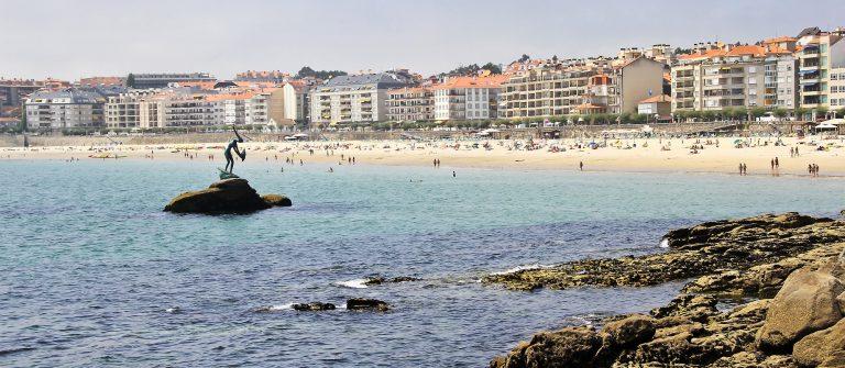 Silgar beach at Sanxenxo_155714399