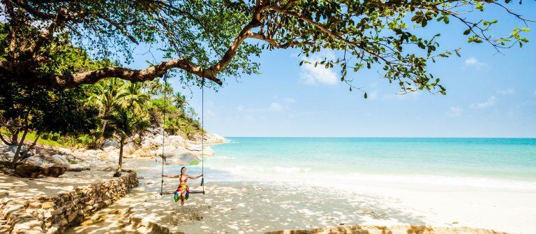Summer seascape on tropical island Koh Phangan in Thailand shutterstock_514445446-2_klein